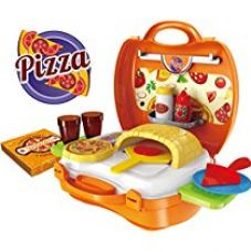 Buy Saffire Pizza Suitcase Set, Multi Color from Amazon