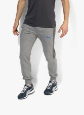 Get 30% off on Puma Formstripe Soccer Flcl Grey Track Pants