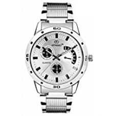 Adamo analog White Dial Men's Watch (AD109) for Rs. 359