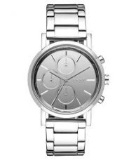 Buy DKNY Round Silver Metal Watch For Women for Rs. 3,539