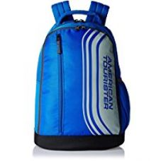 Buy American Tourister 24 Lts Casper Blue Casual Backpack (Casper Bacpack 06_8901836135343) from Amazon