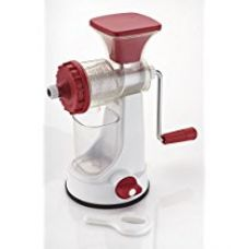 Buy Ganesh Plastic Fruit and Vegetable Juicer, Red from Amazon