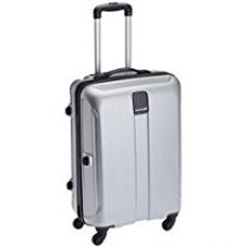 Safari Thorium Polycarbonate 66 cms Silver Hardsided Suitcase (Thorium-Stubble-Silver-65-4WH) for Rs. 3,176