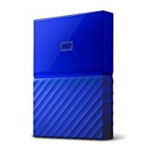 Buy WD My Passport 1TB Portable External Hard Drive (Blue) from Amazon