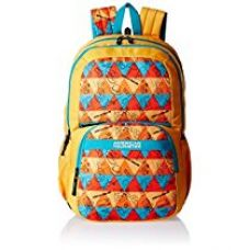 Buy American Tourister 27 Ltrs Yellow Casual Backpack (Hashtag 01) from Amazon