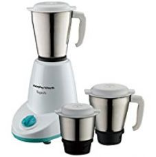 Buy Morphy Richards Superb 500-Watt Mixer Grinder (White) from Amazon