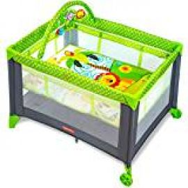 Flat 47% off on Fisher-Price Baby Boy's And Girl's Playmate Portable Cot