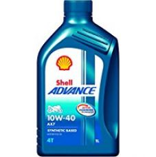 Shell Advance AX7 550031394 10W-40 API SM Synthetic Technology Motorbike Engine Oil (1 L) for Rs. 379