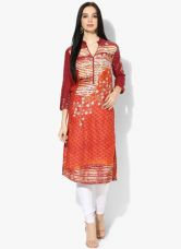 Biba Multicoloured Printed Kurta for Rs. 650