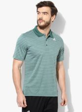 Get 55% off on Adidas Smu 1 Green Polo T-Shirt