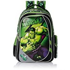Buy Hulk Black and Green Children's Backpack (EI-WDP0076) from Amazon
