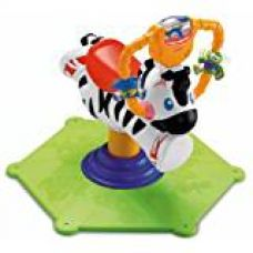 Buy Fisher Price Bounce and Spin Zebra, Multi Color from Amazon