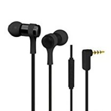 Jabees WE202M In-Ear Headphones Earphones With Mic (Black) for Rs. 489