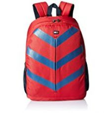 Tommy Hilfiger Delta Polyester 16 Ltrs Red Laptop Backpack (8903496078626) for Rs. 2,199