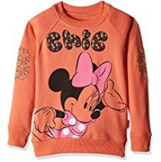 Buy Mickey and Friends Girls' Sweatshirt from Amazon
