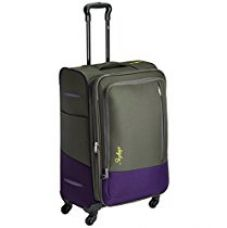 Skybags Romeo Polyester 68 cms Grey Softsided Suitcase (STROMW68GRY) for Rs. 3,375