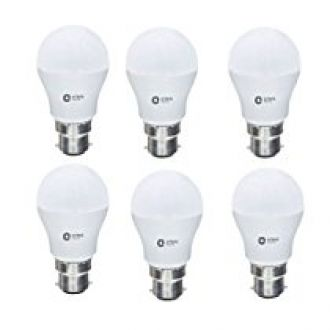 Orient Electric B22 7-Watt LED Bulb (Pack of 6, CDL White) for Rs. 654