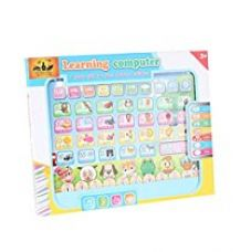 The Flyer's Bay Kids ABC learning Pad ( With touch sounds, Music, Maths Quiz, etc) (Multi) for Rs. 299