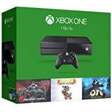Buy Xbox One 1TB Console - 3 Games Holiday Bundle (Gears of War: Ultimate Edition + Rare Replay + Orid and the Blind Forest) from Amazon