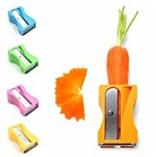 Buy SahiBUY 1Pcs Carrot Cucumber Sharpener Peeler Kitchen Tool Vegetable Fruit Curl Slicer from Amazon