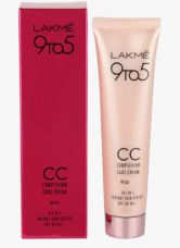 Buy Lakme Cc Complexion Care Cream All In One Instant Skin Stylist Spf 20 Beige (30 Ml) for Rs. 207