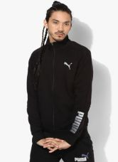 Buy Puma Hero Fz Black Track Jacket for Rs. 1960