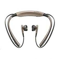 Buy Samsung Level U Bluetooth Stereo Headset Flexible Joint With Neckband ( Gold ) from Amazon