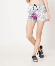 Yepme Hazel Abstract Track Shorts-Grey-Multi for Rs. 329