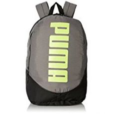 Puma 28 Ltrs Steel Grey and Fluo Lime Casual Backpack (7279003) for Rs. 1,199