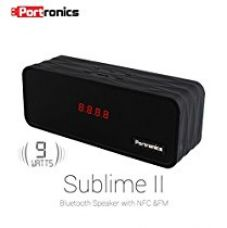 Buy Portronics POR-3500 Sublime II  Portable Wireless Bluetooth Speaker - Black from Amazon