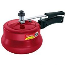 Buy Prestige Nakshatra Pressure Cooker 3 Litre - Red from Amazon