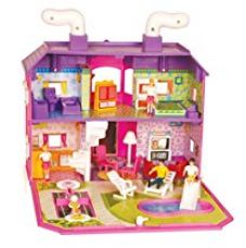 Buy Toyzone My Family Doll House, Multi Color from Amazon