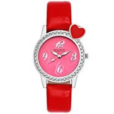 Buy Ferry Rozer Pink Dial Analog Watch For Women - FR5044 from Amazon