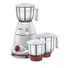 Buy Prestige Tulip Classic (500 Watt) Mixer Grinder with 3 Stainless Steel Jar from Amazon