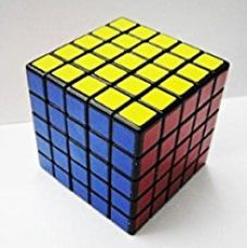 Shengshou 5x5 Speed Cube Black for Rs. 299