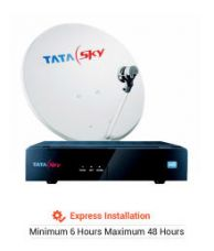 Get 26% off on Tata Sky HD Connection with 1 month Dhamaal Mix Pack (Prepaid Only)(Express Installation)