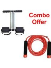 Deemark Tummy Trimmer With New Skipping Rope Combo for Rs. 419