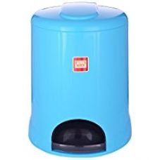 All Time Plastic Pedal Bin, 5 Litres, Blue for Rs. 450
