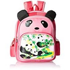 Albert and James Junior Synthetic Pink School Bag for Rs. 549