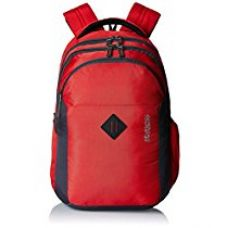 American Tourister 27 Lts Comet Red Laptop Backpack (Comet 01_8901836135282) for Rs. 950