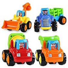 Buy Catterpillar Unbreakable Construction Automobiles Toy Set, Multi Color (Pack of 4) from Amazon