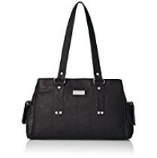 Buy Fantosy Women's Handbag (FNB-126, Black ) from Amazon