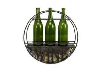 Buy Wine Holder Metal Circle from Hopscotch
