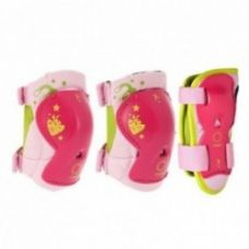Get 9% off on Play Kids' Inline Skating Skateboarding Scootering Protective Gear 3-Pack - Pink