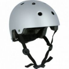 Play 5 Inline Skating Skateboarding Scootering and Cycling Helmet - Grey for Rs. 1,199