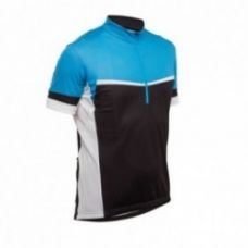 Get 50% off on 500 Short-Sleeved Cycling Jersey - Black/Blue