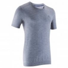 Flat 40% off on Muscle Straight-Cut Bodybuilding T-Shirt - Grey