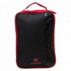Flat 30% off on FC 990 Table Tennis Bat Cover - Black/Red