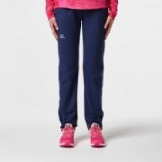 Buy Elioplay Warm Women Running Trousers - Navy Pink from Decathlon