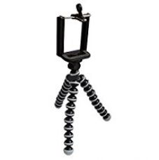 Cellphonez® Gorillapod Flexible Mini Tripod (6 inch height) For Smartphones With Universal Mobile Attachment for Rs. 449